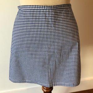 Cute checked skirt